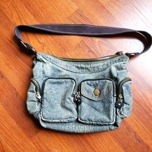 Kipling Denim Look Shoulder Bag
